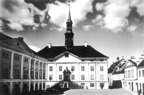 Нарвская ратуша до войны